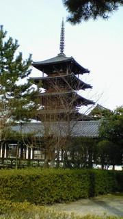世界最古の三重の塔